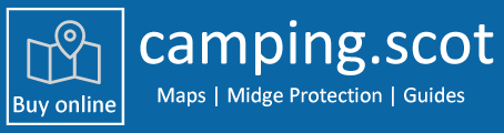Scotland Camping Map | Midge Protection | Guides